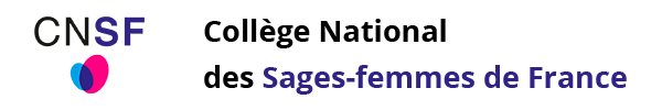 Logo CNSF - Collène National des Sages-femmes de France